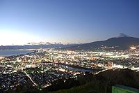 香貫山夜景
